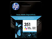 2 x HP 351 ink cartridges new sealed (Bath)