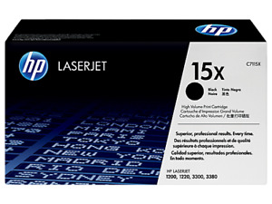 HP Laserjet 15X (C7115X) black cartridge