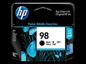 Two hp 98 ink cartridges