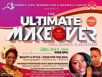 Rediscover your total potential with our Ultimate Makeover Event on 1st Oct 2016