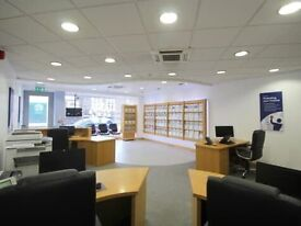 LARGE OFFICE for estate agents/ Insurance and many other retail outlets, Charity Shop Etc .