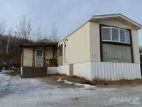 Homes for Sale in Terrace Park, Peace River, Alberta $49,900