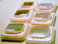 Portable Double-Sided Mirrors with Make Up Trays-Just $2.00 Each
