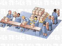 GENERAL LABOURERS AND MACHINE OPERATORS FOR A FOOD ASSEMBLY PLAN