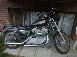 Harley-Davidson en bon état