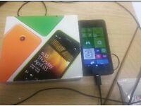 Nokia lumia 635 black 8gb like new boxed EE network