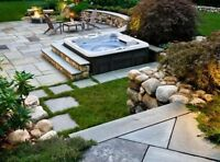 WE DESIGN & INSTALL YOUR DECK FOR FIREPITS & HOT TUBS L.Martin