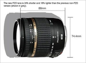 Tamron for Canon Lens AF 18-270mm f/3.5-6.3 Di II VC LD