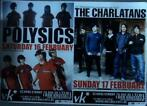 affiche/affiche - Polysics - The charlatans (60x42)