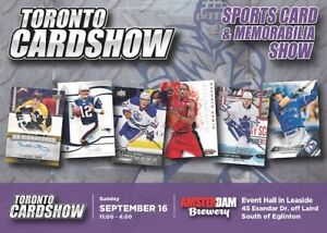 TORONTO CARD SHOW | Hockey Baseball Basketball Football Cards