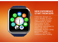 GD19 bluetooth smartwatch (can be linked to your phone)