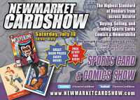ALL-NEW Newmarket Sports Card & Comic Books Show