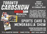 TORONTO CARD SHOW | Hockey & All Sports Cards & Memorabilia