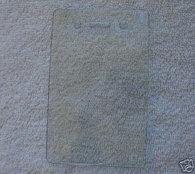 Clear Vinyl Vertical Card Holder - Id-badge-key-reel