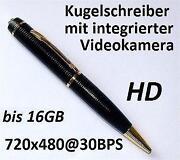 Kugelschreiber Kamera