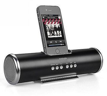 BNIB - PORTABLE RECHARGEABLE SPEAKER IPOD/IPHONE DOCK BLACK Picton Wollondilly Area Preview