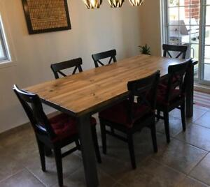 Table DIRECTEMENT de l'artisan !