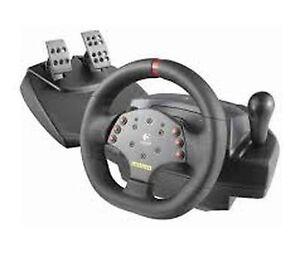 Volant et pédalier Racing Force feedback Wheel pour PC