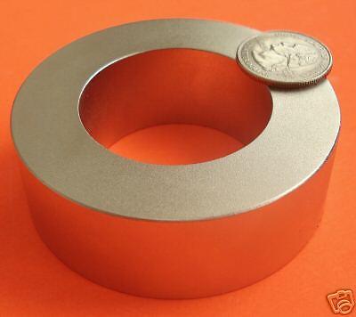 1 Strong 3 Od X 1.75 Id X1 Inch Rare Earth Neodymium Ring Magnet Grade N42