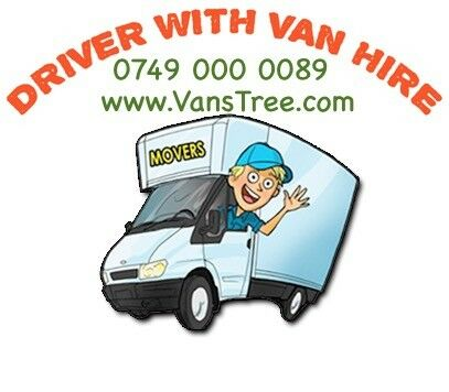 7ad2c2380e MAN AND VAN HIRE WITH A DRIVER HOUSE MOVING LORRY LUTON SIZE TRUCK ...