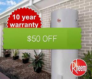 Hot Water Heater Repairs/Replacement Parramatta Parramatta Area Preview