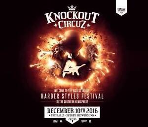 Knockout Circuz Unactivated Hardcopy Ticket x1 Sydney City Inner Sydney Preview