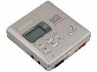 MiniDisc / MiniDisk Gear Wanted - Sony Portables & Decks & Discs- Broken or Working :)