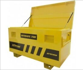 JEFFERSON SITE SAFE 700 SITE TRUCK BOX WITH GAS STRUTS 1220X610X700MM