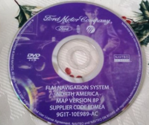 Ford / Lincoln GPS Navigation DVD