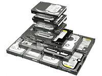 SATA hard drives HDD, 80GB - 5GBP/320GB-15GBP/500GB-20GBP/750GB -25GBP