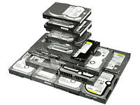 SATA hard drives HDD - 250GB-£10 / 320GB-£15 / 500GB-£20