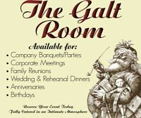 Galt Club at Cafe 13 Main Street Grill for rent