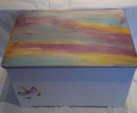 Unicorn Toy Box