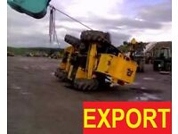 DIGGERS/TELEHANDLERS AND MORE WANT£D FOR EXPORT!!!