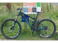 Merida one-forty mountain bike