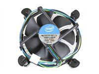 Genuine Intel Core i7/i5/i3 Stock copper base cooler LGA 1155/1151 3770k 4770k 7700k 8700k 8600k etc