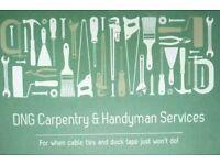 DNG Services, Gardening, carpentr, handyman.
