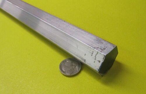 "6061 Aluminum Hex Rod 1.0"" Hex x 6 Ft Length"