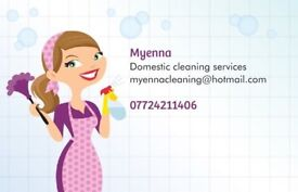 Domestic Cleaning service £10 hour