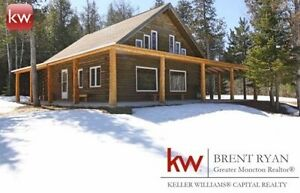 Beautiful Waterfront Property- 35 Riverbend! Browns Yard, NB
