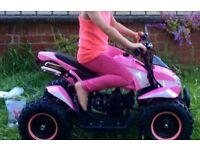 Pink quad 50cc