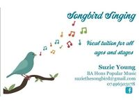 Songbird Singing Vocal Tuition