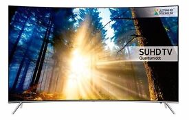 """Samsung 43"""" KS7500 7 Series Curved SUHD with Quantum Dot Display TV"""