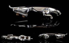 An Original Chrome Plated ' Jaguar ' Car Mascot with Original Bolts.