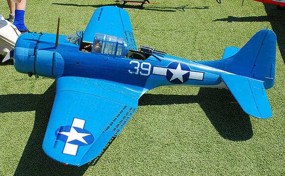 Giant 1/5 Scale  American WW-II Douglas SBD-5 Dauntless  Plans & Templates 95ws