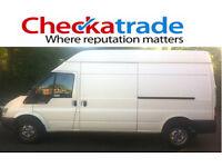 From £20 per job. Man & van. CHECKATRADE MEMBER (9.91/10). High quality service and fully insured.