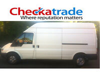 From £20 per job. Man & van. CHECKATRADE MEMBER (9.89/10). High quality service and fully insured.