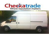 From £20 per job. Man & van. CHECKATRADE MEMBER (9.92/10). High quality service and fully insured