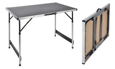 Campingtisch höhenverstellbar - Klapptisch Falttisch Gartentisch Camping Tisch