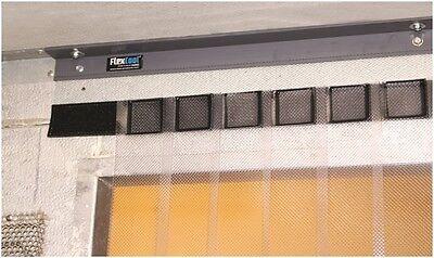 Himi Flex Cool Walk In Cooler Freezer Strip Curtain Easy Install 37 X 84